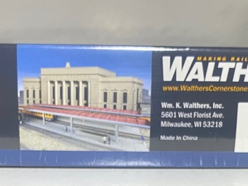 Selling with online payment: HO WALTHERS 933-3391 CORNERSTONE STATION PLATFORM KIT PARTS FOR 2