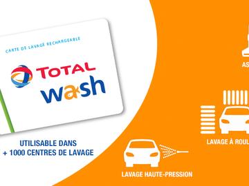 Vente: Cartes Total Wash (164€)