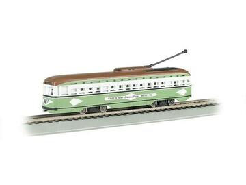 Selling with online payment: BACHMANN #60501 SAN DIEGO PCC STREET CAR DCC/SOUND