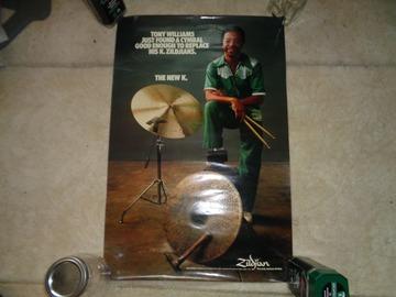 VIP Members' Sales Only: Tony Williams Zildjian poster