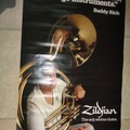 VIP Members' Sales Only: Buddy Rich poster with Tuba