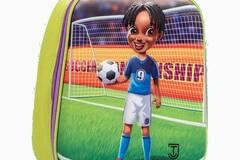 清算批发地: 3D Soccer Insulated Lunch Bag For Kids – JCT Kids –