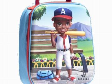 Liquidation/Wholesale Lot: 3D Baseball Insulated Lunch Bag For Kids – JCT Kids