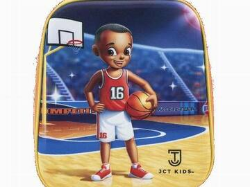 Liquidation/Wholesale Lot: 3D Basketball Insulated Lunch Bag For Kids – JCT Kids