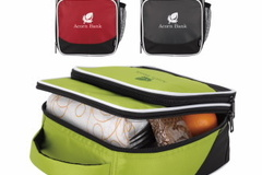 清算批发地: Koozie – Zip Around Insulated Lunch Box Cooler – Lime Green