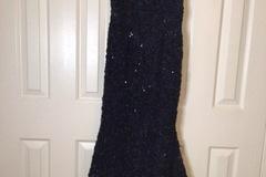 Selling A Singular Item: Aqua Evening Gown