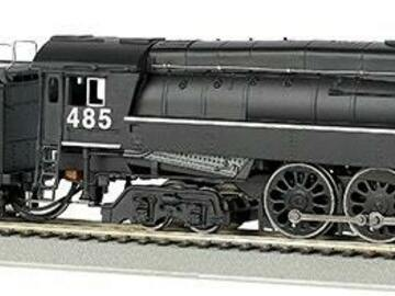 Selling with online payment: BACHMANN #50206 WESTERN PACIFIC #485 - GS64 4-8-4 DCC EQUIPPED
