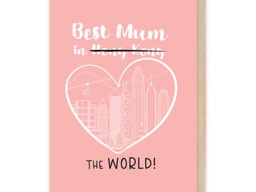 : Best Mum in the World Card