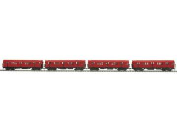 Selling with online payment: MTH #80-2370-0 MTA R-17 4-CAR SUBWAY SET DCC READY