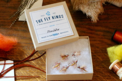 Selling with online payment: Yellow Stimulator Dry Flies (6 per unit)