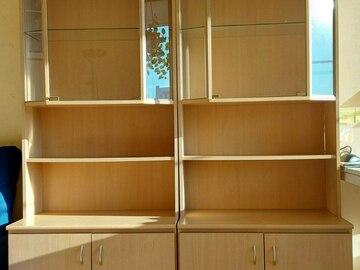 Selling: Home showcase displays with bookshelf