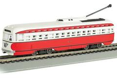 Selling with online payment: BACHMANN #60505 ALLEGHENY TRANSIT - PITTSBURGH PCC STREET CAR
