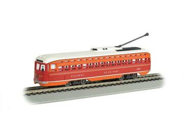 Selling with online payment: BACHMANN #60502 PACIFIC ELECTRIC PCC STREET CAR