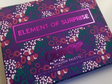 Venta: Paleta element of surprise Colour Pop