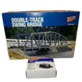 Selling with online payment: HO WALTERS DOUBLE-TRACK SWING BRIDGE & MOTORIZING SCENARY KIT