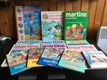 Vente: 14 livres collection Martine
