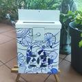 : Mailbox : Carpe Koi Porcelaine style