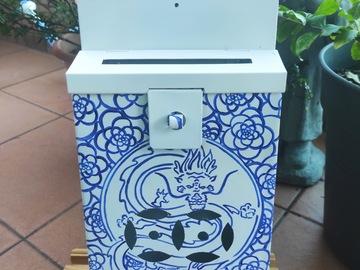 : Mailbox : Dragon Porcelaine style