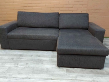 Myydään: Brown sofa bed