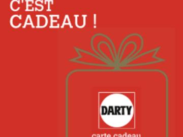 Vente: Carte cadeau Darty (60€)