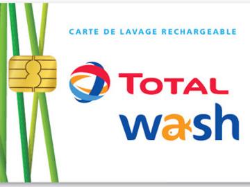 Vente: Carte Total Wash (164€)