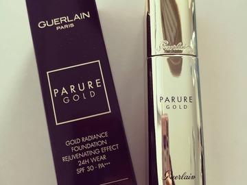 Venta: Guerlain Parure Gold Foundation Tono 01