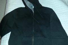 Myydään: Black neoprene hoodie M