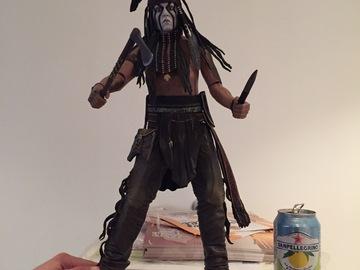 Vente: Figurine articulée Lone Ranger 46 cm