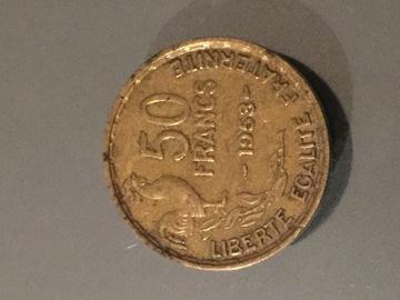 Troc: Pièce de monnaie 50 francs ancienne 1953