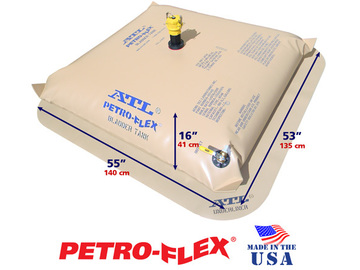Selling: 100 Gallon ATL Petro-Flex® Range Extension Fuel Bladder