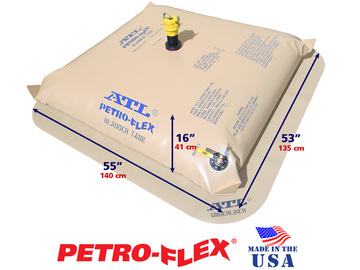 Selling: 75 Gallon ATL Petro-Flex® Range Extension Fuel Bladder