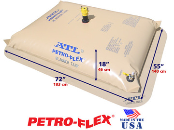 Selling: 150 Gallon ATL Petro-Flex® Range Extension Fuel Bladder