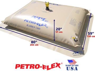 Selling: 200 Gallon ATL Petro-Flex® Range Extension Fuel Bladder