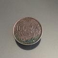 Troc: Pièce de monnaie ancienne de 100 francs  - année 1955