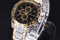 Bulk Lot: (25) Men's Luxury Stainless Steel Sport Watches