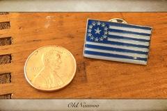 Selling: Kingdom of God Flag lapel pin
