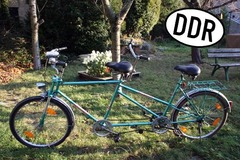 Tandem bicycle rental: Schorch - DDR-Tandem