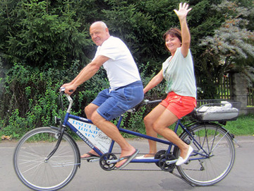 Tandem bicycle rental: Mit Lieslotte Leipzig entdecken