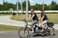 Tandem bicycle rental: Fridolin - Reise-Tandem