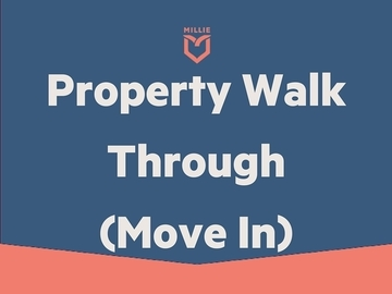 Service: Property Walk Through -Move In