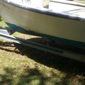 Selling: 18ft Atlantic skiff