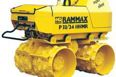 En alquiler: Rodillo Vibrocompactador Pata de Cabra Rammax P33-24 Diesel