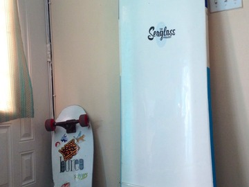For Rent: 5'6  Alaia Seaglass Albacore (Finless)