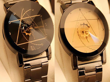 Sell: (30) Luxury Men/Women Compass Stainless Steel Watches