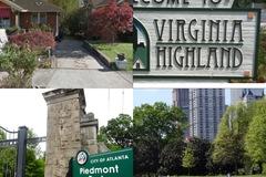 Daily Rentals: Atlanta GA, Va-Highland/Piedmont Park