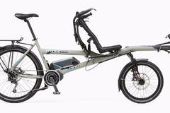 Tandemverleih: Hase Pino E-Bike Tandem Cuxhaven
