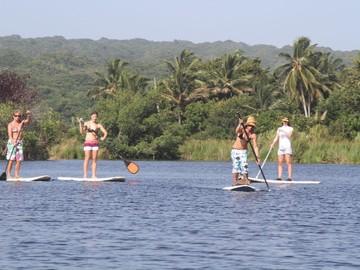Excursion or Lesson: SUP Lagoon tour
