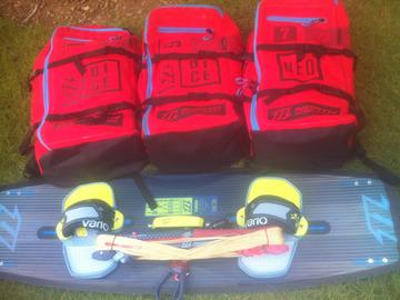 Renting out: Kitesurf equipment set