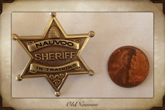 Selling: Nauvo Sheriff in training Collectors Pin