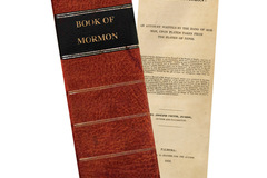 Selling: Pack of ten 1830 Book of Mormon Bookmarks